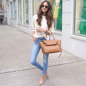 J. Jill Light Wash Stretch Skinny Jeans size 6